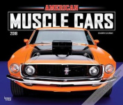 2018 American Muscle Cars Deluxe Wall Calendar