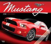 2018 Mustang Deluxe Wall Calendar