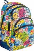 Smiley Children's Backpack multicolour various