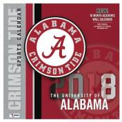 Alabama Crimson Tide 2018 12x12 Team Wall Calendar