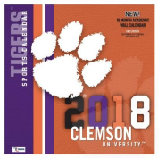 Clemson Tigers 2018 12x12 Team Wall Calendar