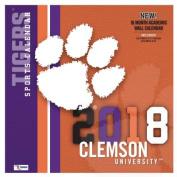 Clemson Tigers 2018 12x12 Team Wall Calendar