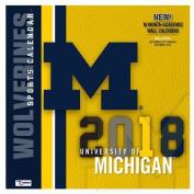 Michigan Wolverines 2018 12x12 Team Wall Calendar