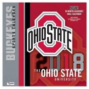 Ohio State Buckeyes 2018 12x12 Team Wall Calendar