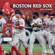 Boston Red Sox 2018 12x12 Team Wall Calendar