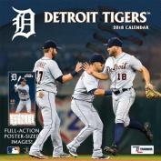 Detroit Tigers 2018 12x12 Team Wall Calendar