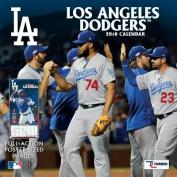 Los Angeles Dodgers 2018 12x12 Team Wall Calendar