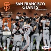 San Francisco Giants 2018 12x12 Team Wall Calendar