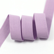 Top Hunter 1.9cm 10 Yds Purple Knitted Stretchy Elastic Band