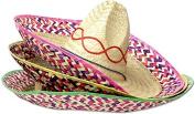 DDI 1878017 50cm . Embroidered Straw Sombreros