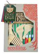 Seedling Design Dragon Ready For Adventure Kids Art Supplies Craft Kits Educational Toy