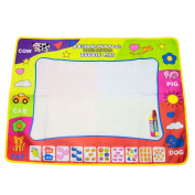 Picowe Doodle Mat Water Painting Drawing Writing Board Toy 2 Magic Pens for Baby Kids