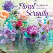 Floral Serenity 2018 Wall Calendar