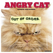 Angry Cat 2018 Wall Calendar