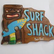 Souvenir Sign, Surf Shark, Venice beach , wall decor sign.