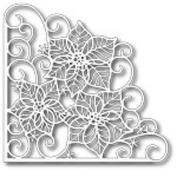 Tutti Designs Thin Metal Die - Poinsettia Corner - Tutti-120