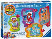 Ravensburger Go Jetters 4 Shaped Jigsaws