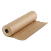 Boardwalk Kraft Paper, 90cm x 210m, Brown - Includes one roll.