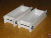 0.5-0.9kg Soap Moulds - 2 Mould Set