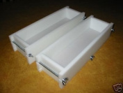 1.4-1.8kg Soap Moulds - 2 Mould SET