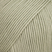 Rico Design Essentials Double Knitted Yarn, 100 Percent Cotton, Hay by Rico Design
