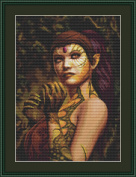 Dragon Lady Cross Stitch Kit By Orcraphics …