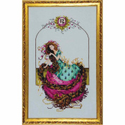 Rapunzel LINEN Kit Beaded Counted Cross Stitch by Nora Corbett Mirabilia Designs MD145 (Bundle