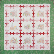 Gingerbread Square Block of the Month Kit