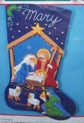 Bucilla Holy Nativity Felt Stocking