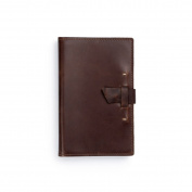 Rustico Navigator Leather Notebook Brown