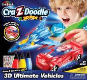 Crazy Art Doodle 3D Ultimate Vehicles