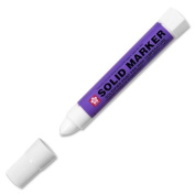 Wholesale CASE of 25 - Sakura Solid Paint Markers-Solid Marker, Twist-action, 13mm, White
