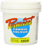 Super Cover Screenprinting Ink - Glow Yellow Permaset Aqua Fabric Magic 1L