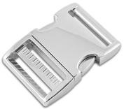 10 - 3.8cm Aluminium Side Release Buckles