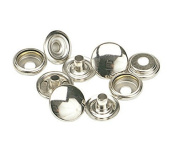 K1708-11-C C.S. OSBORNE & CO. SNAPS FASTENERS PK/100 - 1/2 stainless steeel Caps, Studs, Eyelets and Sockets