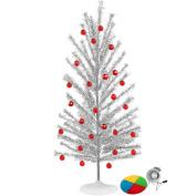 Aluminium Christmas Tree with Colour Wheel Set
