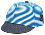 La Vogue Kids Striped Peaked Hat Boys Baseball Hat Girls Beret Cap