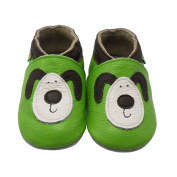 Sayoyo Baby Dog Soft Sole Leather Infant Toddler Prewalker Shoes