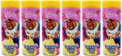 x6 Disney Princess Beauty & the Beast Bath and Shower Bubbles 400ml