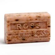 French Soap, Traditional Savon de Marseille - Rose Petals 125g