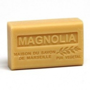 French Soap, Traditional Savon de Marseille - Magnolia 125g