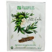 PHITOFILOS - Walnut Hull Mixture - 100% Organic Hair Treatment - for Brown Shades - With Indigofera and Lawsonia - 100 gr