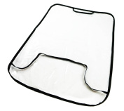 Car Rear Seat Protective Backrest Protector Seat Protector Sun Protection Transparent [030]