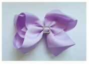 Bfab 3.5 and 13cm Hair Bow with Rhinestone Alligator Clip Hair Pin