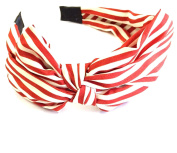 Maritimer Alice Band Hair Accessory Striped Red/White
