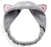 GEOOT Makeup Cat's Ear Hair Band