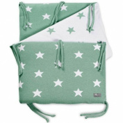 Baby's only-tour Star (Mint and White Bed Bed 60 x 120 cm Green