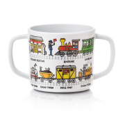 Tyrrell Katz Trains Design Melamine Training Cup