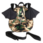 Hipiwe Bat Toddle Safety Harness Backpack Child Reins Strap Bag