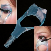 OnceAll 3in1 Mascara Applicator Guide Tool Eyelash Comb Makeup by fenhe